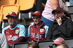 Burnley fans during the game