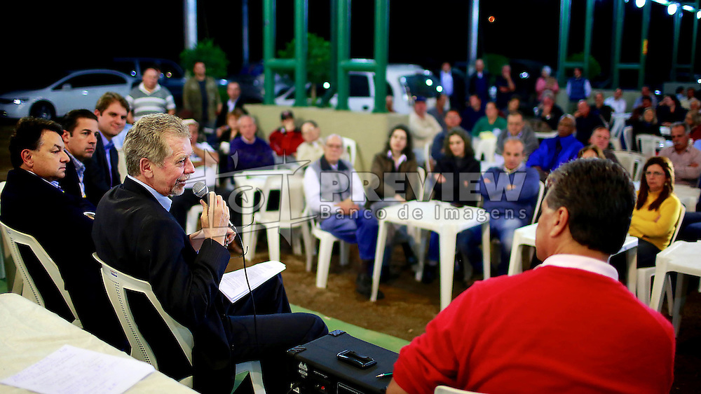 José Fortunati durante reunião com Associados do Sindicato Rural de Porto Alegre. FOTO: Jefferson Bernardes/Preview.com