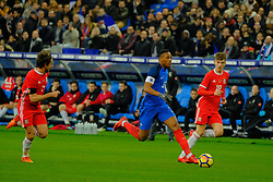 November 11, 2017 - Saint Denis, Seine Saint Denis, France - French team Forward ANTHONY MARTIAL in action during the friendly match between France and Wales at the Stade de France - St Denis - France.France beat Wales 2-0 (Credit Image: © Pierre Stevenin via ZUMA Wire)