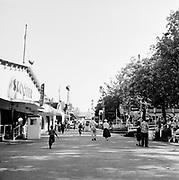Y-530719-02.  Fun days story published July 19, 1953. Oaks Park