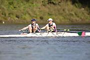 Crew: 19 - Burmester / Fesenko - Auriol Kensington Rowing Club - Op MasB 2x <br /> <br /> Pairs Head 2020