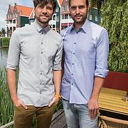 NLD/Volendam/20140620 -Presentatie 'Herinneringen' Dvd box Nick & Simon,
