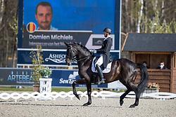 Michiels Domien, BEL, Intermezzo van het Meerdaalhof<br /> CDI 3* Opglabeek<br /> © Hippo Foto - Dirk Caremans<br />  23/04/2021