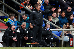 Bolton Wanderers manager Phil Parkinson shows a look of frustration - Mandatory by-line: Matt McNulty/JMP - 15/04/2017 - FOOTBALL - Boundary Park - Oldham, England - Oldham Athletic v Bolton Wanderers - Sky Bet League 1