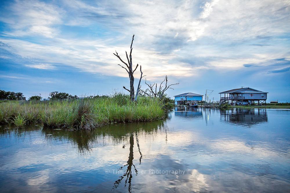 Fishing camps in Terrebonne Parish, Louisiana