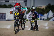 8 Boys #5 (KASPER Jules) SUI at the 2018 UCI BMX World Championships in Baku, Azerbaijan.