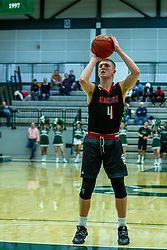 BLOOMINGTON, IL - November 12: Bryson Kirby during a college basketball game between the IWU Titans  and the Blackburn Beavers on November 12 2019 at Shirk Center in Bloomington, IL. (Photo by Alan Look)