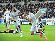Newcastle United v Swansea City 250415