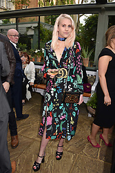 India Rose James at The Ivy Chelsea Garden's Annual Summer Garden Party, The Ivy Chelsea Garden, 197 King's Road, London England. 9 May 2017.<br /> Photo by Dominic O'Neill/SilverHub 0203 174 1069 sales@silverhubmedia.com