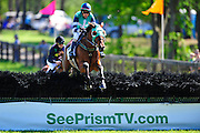 April 7, 2012 - Richard Boucher and Class Brahms lead early in the CenturyLink Hurdle Stoneybrook Steeplechase, Raeford NC