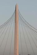 Italy, Reggio Emilia, Calatrava chord Bridge,
