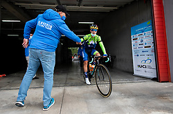 Ales Galof and ROGLIC Primoz of Slovenia during Men Elite Road Race at UCI Road World Championship 2020, on September 27, 2020 in Imola, Italy. Photo by Vid Ponikvar / Sportida