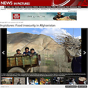 BBC: Food Insecurity in Afghanistan