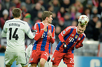 v.l. Thomas Mueller, Sebastian Rode (Bayern)<br /> Fussball, Champions League, Gruppenphase, FC Bayern Muenchen - ZSKA Moskau