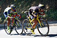 Fabien Grellier (FRA - Direct Energie), Marco Minnaard (NED - Wanty - Groupe Gobert) during the 105th Tour de France 2018, Stage 8, Dreux - Amiens Metropole (181km) on July 14th, 2018 - Photo Luca Bettini / BettiniPhoto / ProSportsImages / DPPI