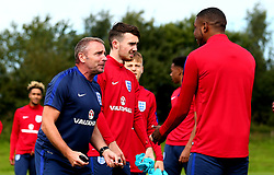 England Under 19s Head Coach Keith Downing leads training with England Under 19s ahead of the International Friendlies against Poland and Germany - Mandatory by-line: Robbie Stephenson/JMP - 31/08/2017 - FOOTBALL - England U19 - Training session ahead of international friendlies against Poland and Germany