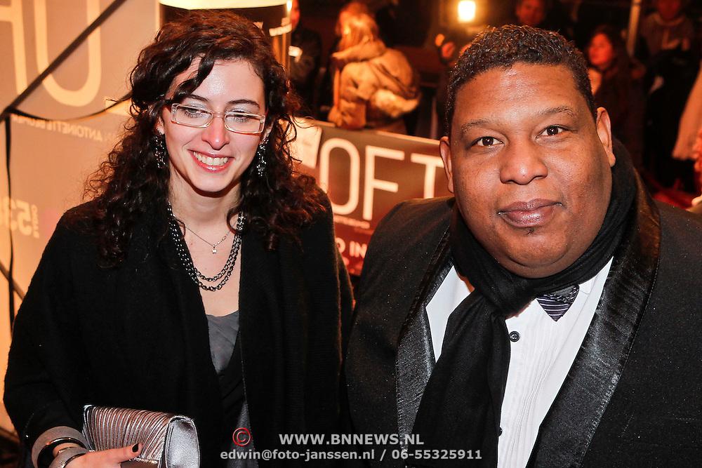 NLD/Amsterdam/20101214 - Inloop premiere LOFT, Quintis Ristie en partner