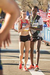 BAA 5K road race Molly Huddle wins USA Saucony, Gebremeskel assists