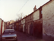 Old Dublin Amature Photos February 1984 with, Mount St, upper, lower, Stephens Lane, Pepper Cannister Church, School, Mount St, Bridge, Percy Lane, fiat, mirafiori, 131, car,