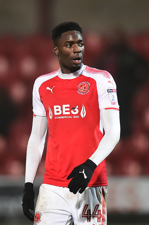 Fleetwood Town's Devante Cole looks on at the end of the match<br /> <br /> Photographer Richard Martin-Roberts/CameraSport<br /> <br /> The EFL Sky Bet League One - Fleetwood Town v Gillingham - Friday 22nd December 2017 - Highbury Stadium - Fleetwood<br /> <br /> World Copyright © 2017 CameraSport. All rights reserved. 43 Linden Ave. Countesthorpe. Leicester. England. LE8 5PG - Tel: +44 (0) 116 277 4147 - admin@camerasport.com - www.camerasport.com