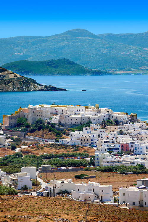Naxos town. Greek Cyclades Islands Greece