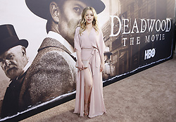 May 14, 2019 - Los Angeles, CA, USA - Los Angeles, CA - MAy 14:  Jade Pettyjohn attends the Los Angeles Premiere of HBO's 'Deadwood' at Cinerama Dome on May 14 2019 in Los Angeles CA. Credit: CraSH/imageSPACE (Credit Image: © Imagespace via ZUMA Wire)
