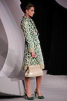 Diana Dondoe walks the runway  at the Christian Dior Cruise Collection 2008 Fashion Show