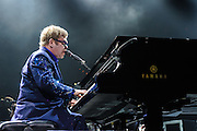 WASHINGTON, DC - November 14, 2013 - Sir Elton John performs at the Verizon Center in Washington, D.C. John's set featured songs from his newest album, The Diving Board, as well as a host of hits from his vast back catalogue. (Photo by Kyle Gustafson / For The Washington Post)