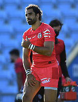 Rugby Union - 2019 / 2020 Heineken Cup - Semi-final - Exeter Chiefs vs Toulouse<br /> <br /> Toulouse's Yoann Huget, at Sandy Park.<br /> <br /> COLORSPORT/ASHLEY WESTERN
