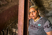 """Semara Garcia Gutierrez, 43, is currently serving a three year prison sentence in Matanzas but was photographed while on weekend leave visiting her mother in Old Havana. """"I took the fall for a friend during a street knife fight,"""" she explains. """"Prison conditions aren't too bad.There are problems with food and water but everyone has their own bed and the guards are usually kind,"""" she says.She is enrolled in a cooking course in the prison and dreams of one day sharing a home with her female partner and working as a chef. """"Homosexuality is not accepted here in Cuba but people are becoming more open,"""" she says. """"My mother and grandmother have always accepted me,"""" she adds. Of Cuban women she says """"we are strong, beautiful and able to face anything because we've gone through so much already."""""""
