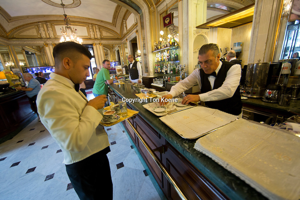 cafe Gambrinus at Piazza Trieste E Trento, naples