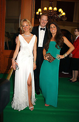 Left to right, the EARL & COUNTESS OF DERBY and ELISABETH SALTZMAN  at the NSPCC's Dream Auction held at The Royal Albert Hall, London on 9th May 2006.<br /><br />NON EXCLUSIVE - WORLD RIGHTS