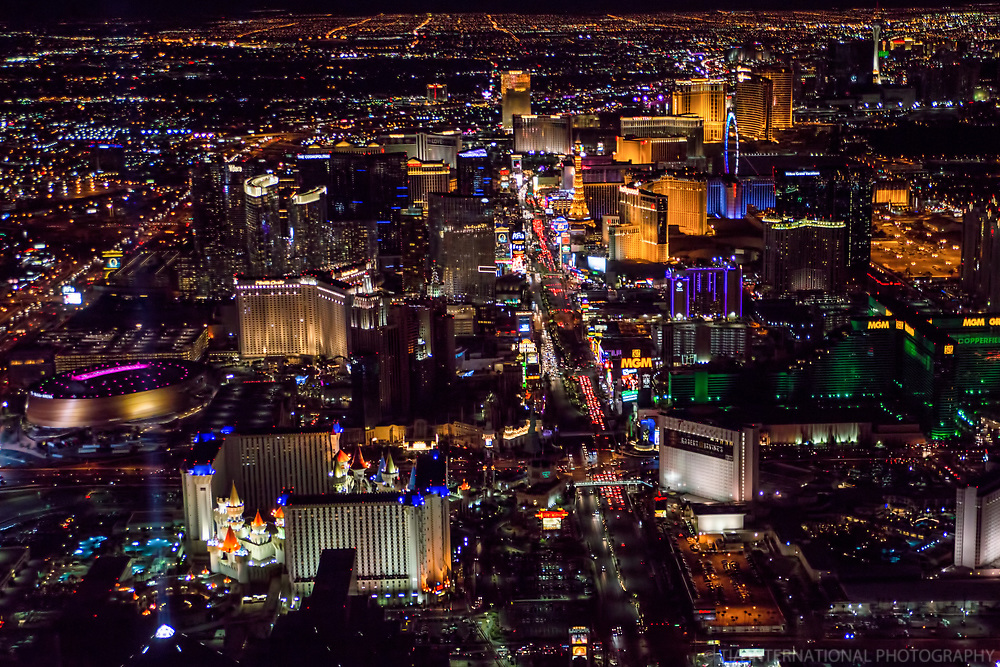 Las Vegas Strip (from the Southern End)