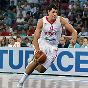 Turkey's Cenk AKYOL during their Istanbul CUP 2011match played Turkey between New Zeland at Abdi Ipekci Arena in Istanbul, Turkey on 24 August 2011. Photo by TURKPIX