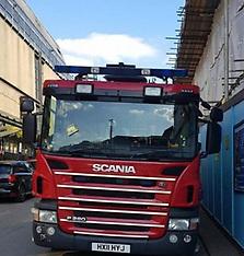 Fire Engine TIcket