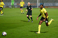 Lucas Akins of Burton Albion (10) running with the ball during the EFL Sky Bet League 1 match between Burton Albion and Bristol Rovers at the Pirelli Stadium, Burton upon Trent, England on 2 March 2021.