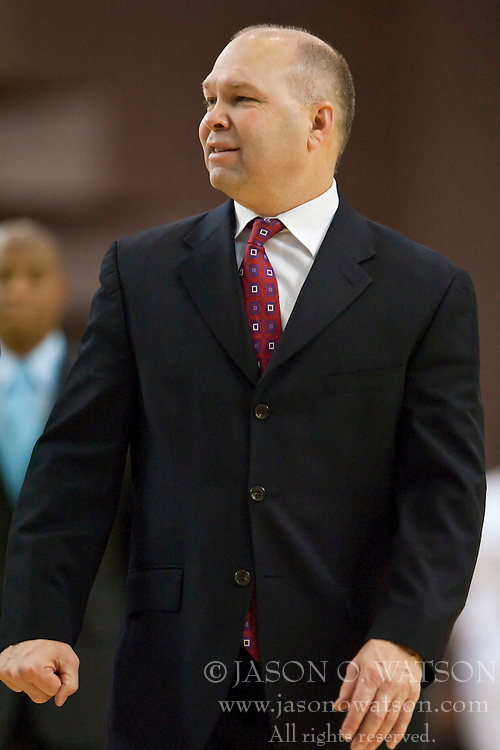 November 30, 2009; San Jose, CA, USA;  Saint Mary's Gaels head coach Randy Bennett during the second half against the San Jose State Spartans at the Event Center Arena.  Saint Mary's defeated San Jose State 78-71.