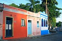 street view of olinda near recife pernambuco state brazil