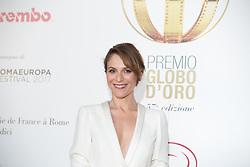 June 14, 2017 - Rome, Italy - Italian actress Isabella Ragonese Photocall of the 2017 Globe Awards ceremony evening in the Villa Medici Gardens. (Credit Image: © Matteo Nardone/Pacific Press via ZUMA Wire)