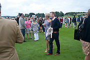 Jenny Falconer; James Midgley , Veuve Clicquot Gold Cup. Cowdray Park on July 20, 2008 . Midhurst, England.