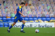 AFC Wimbledon defender Will Nightingale (5) about to pass the ball during the EFL Sky Bet League 1 match between AFC Wimbledon and Sunderland at Plough Lane, London, United Kingdom on 16 January 2021.