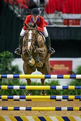 Ward Mclain, USA, Sapphire<br /> World Cup Final Jumping - Las Vegas 2005<br /> © Hippo Foto - Dirk Caremans