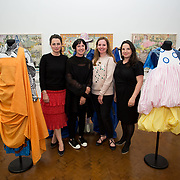 """18.05.2018.          <br /> More than 500 people attended the flagship event of the inaugural Unwrap LSAD Fashion Festival in Limerick.<br /> <br /> Pictured at the event were, Muirean Charleton, Angella O'Kelly, Ciara Garvey and Susan Holland.<br /> <br /> The Limerick School of Art & Design, LIT, Fashion Design Graduate Exhibition and launch of the """"The Fashion Film"""" at Limerick City Gallery of Art, in partnership with EVA International, attracted hundreds of people from the world of fashion. <br /> <br /> A total of 27 fashion graduates presented their designs alongside the specially commissioned film by fashion stylist and creative director Kieran Kilgallon and videographer Albert Hooi. Picture: Alan Place"""