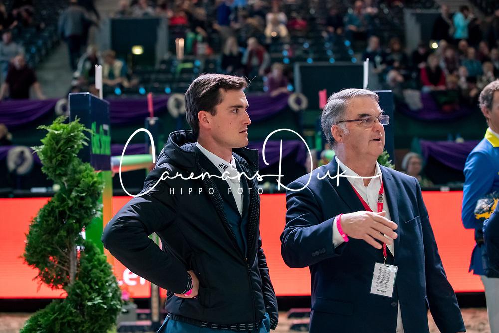 Philippaerts Olivier, BEL, Weinberg Peter, GER<br /> Leipzig - Partner Pferd 2019<br /> © Hippo Foto - Stefan Lafrentz
