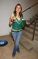 LISA VERRICO at a party hosted by O2 to announce their support for grassroots music through the launch of a nationwide music talent search 'O2 Undiscovered' held at The Hospital, Endell Street, London on 8th March 2006.<br /><br />NON EXCLUSIVE - WORLD RIGHTS