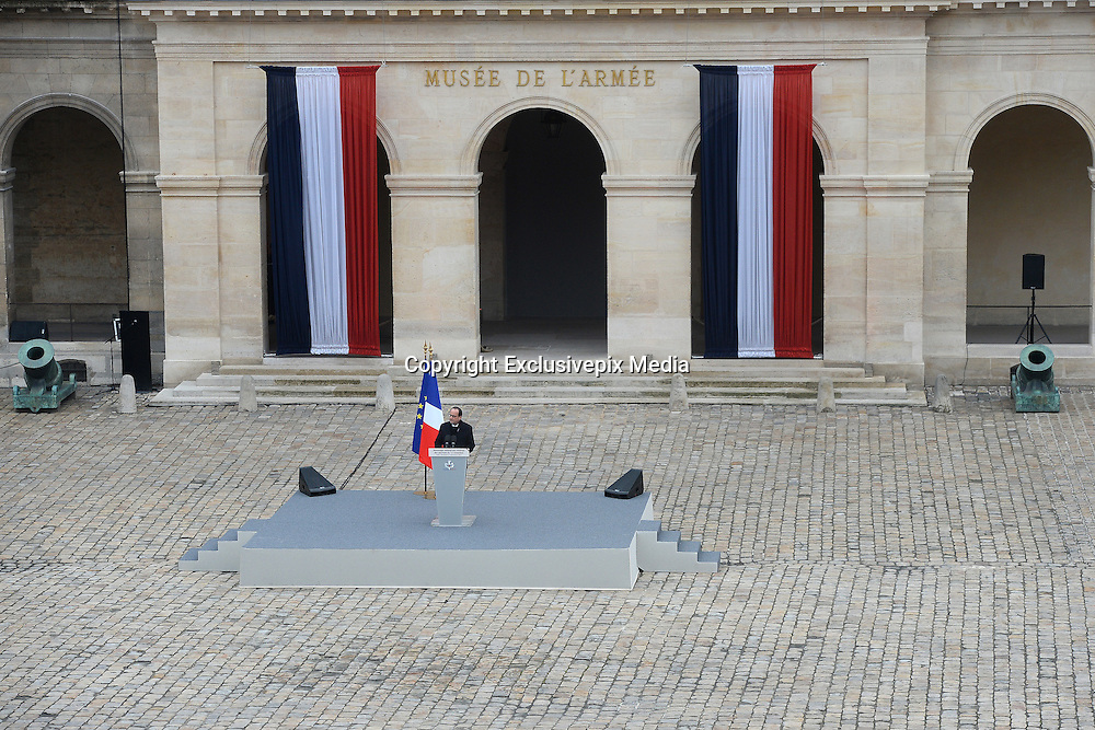 TRIBUTE TO THE VICTIMS OF 13 November 2015 in PARIS<br /> ©Exclusivepix Media