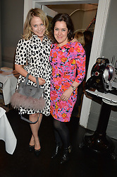 Left to right, POPPY JAMIE and EMMA FRANCE European Director mothers2mothers  at the mothers2mothers Mother's Day Tea hosted by Nadya Abela at Morton's, Berkeley Square, London on 12th March 2015.  mothers2mothers is a charity working to eliminate mother to child transmission of HIV/AIDS across sub-Saharan Africa.