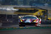 June 13-18, 2017. 24 hours of Le Mans. 71 AF Corse, Ferrari 488 GTE, Sam Bird, Davide Rigon, Miguel Molina