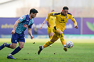 Marcus Browne of Oxford United on the attack during the EFL Sky Bet League 1 match between Oxford United and Wycombe Wanderers at the Kassam Stadium, Oxford, England on 30 March 2019.