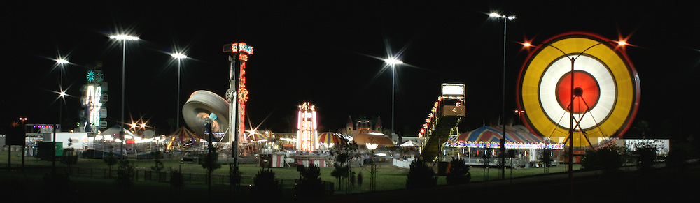 Carnival Colossal at Night in San Clemente